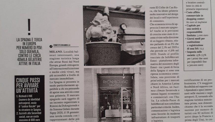 Aprire un pdv in Spagna perchè conviene | Dolcegiornale | gennaio-febbraio 2020